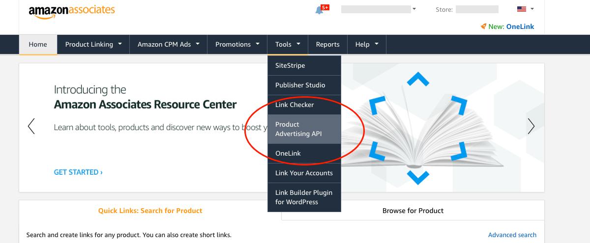 How To Retrieve Your Amazon Product Advertising API Access Key