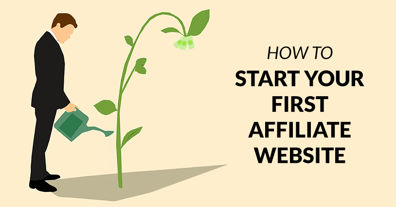 how to make an affiliate website