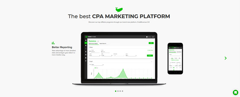 CrakRevenue The Most Profitable CPA Network